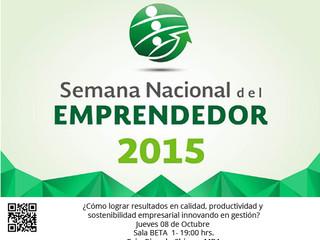 PHI METHODOLOGY en la Semana Nacional del Emprendedor