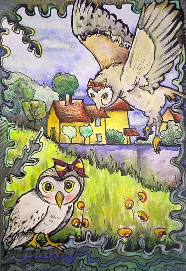 """Ainsley's Owls"""