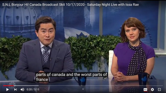 """That time SNL """"France-faced"""" the entire culture of Quebec"""