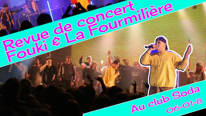 Revue de Concert : Fouki et les Fourmis (vidéos)