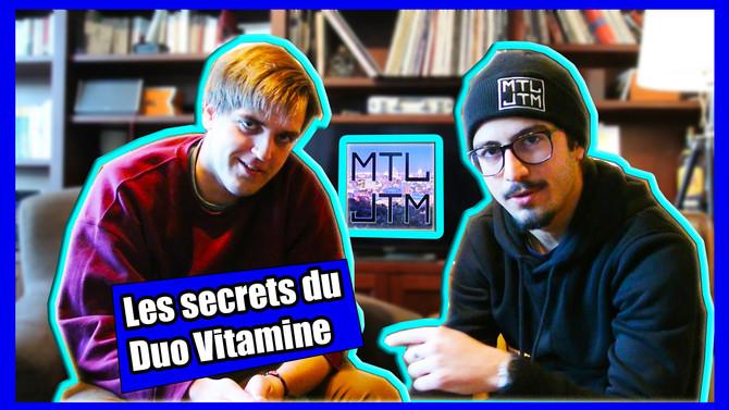 Entrevue : Duo Vitamine