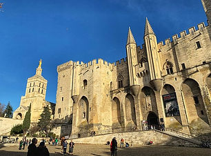 Day trip out to Avignon and close to Cha