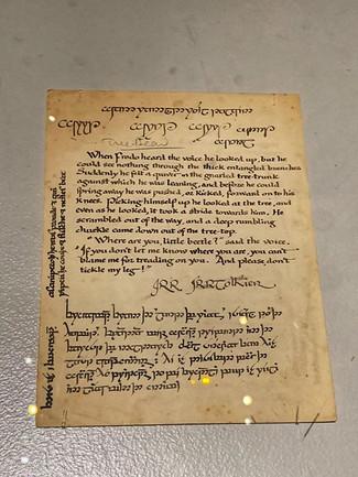 The Tolkien exhibit 😍.jpg