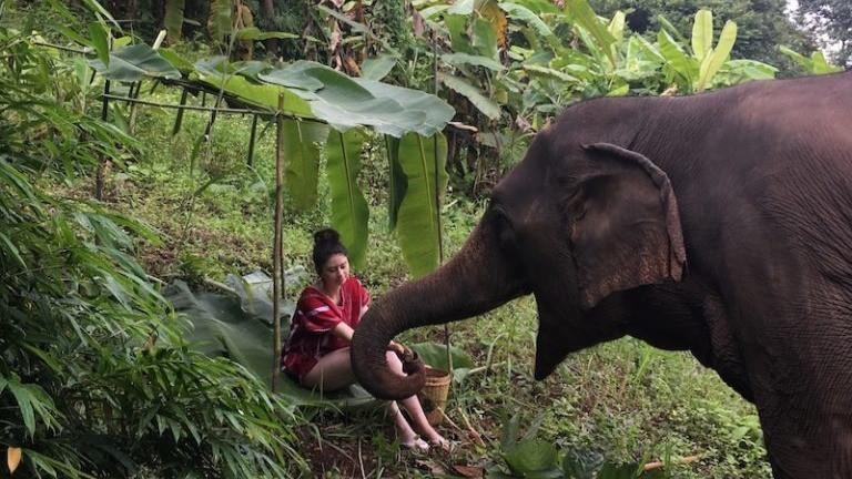 Maeve in Thailand