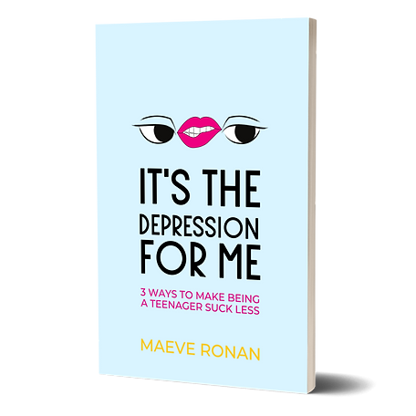 Signed Copy - It's the Depression for Me (Paperback)