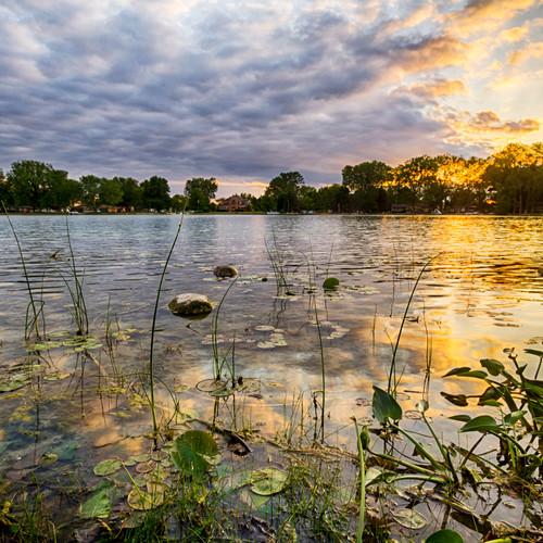 Sunset-Waubee-Lake-near-Milford-Indiana-