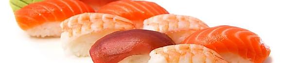 FISHES (RAW) NIGIRI 2pcs; SASHIMI 3pcs