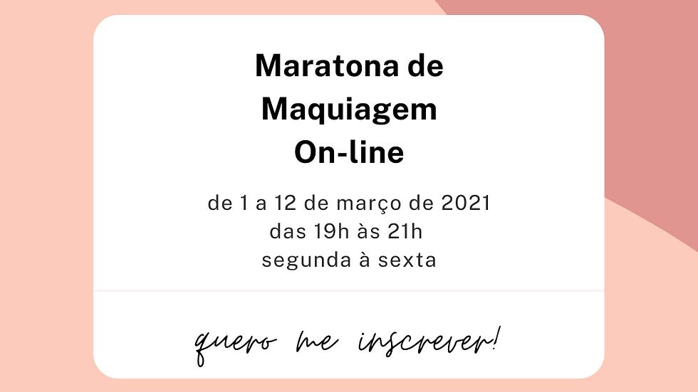 Maratona de Maquiagem On-line