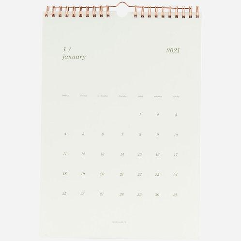 Wandkalender 2021 Monograph