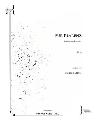 B. Rolle, für Klarenz Score