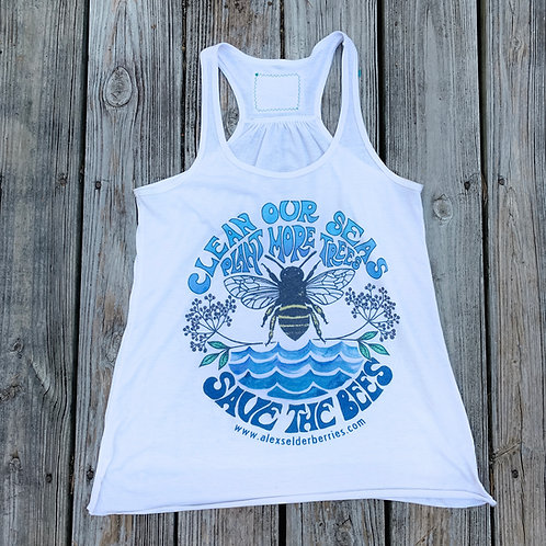 Save The Bees Women's Flowy Tank