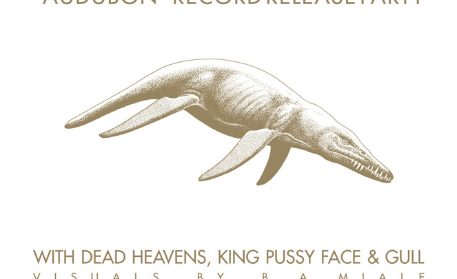 """PROSTHETIC """"AUDUBON"""" RELEASE PARTY at ST. VITUS 6.16.16 with DEAD HEAVENS, KING PUSSY FACE, and GULL"""