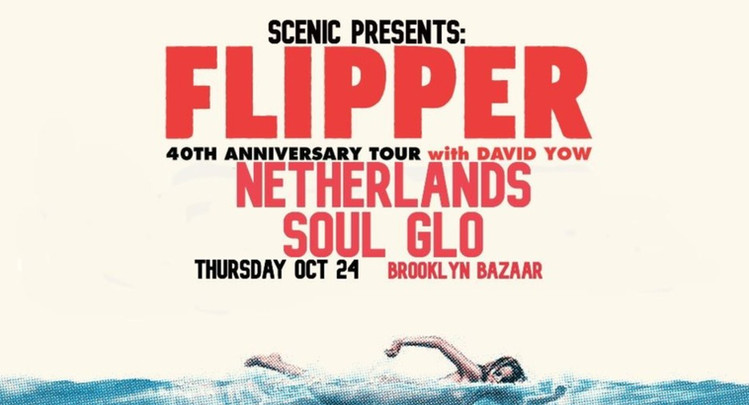 with FLIPPER and SOUL GLO 10.24.19