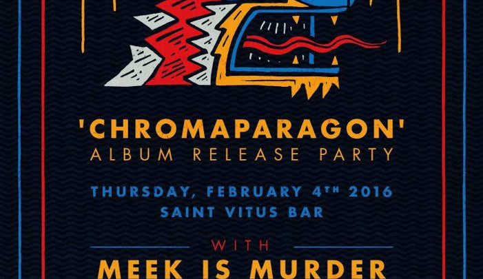 NETHERLANDS @ MOON TOOTH's LP RELEASE PARTY 2.4.16 at ST.VITUS with MEEK IS MURDER and GODMAKER