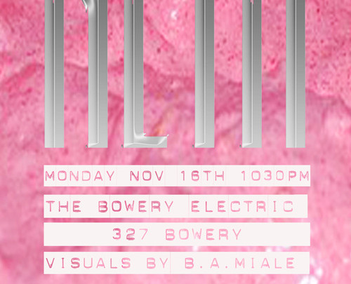 NETHERLANDS at The Bowery Electric Monday 11.16.15 1030pm