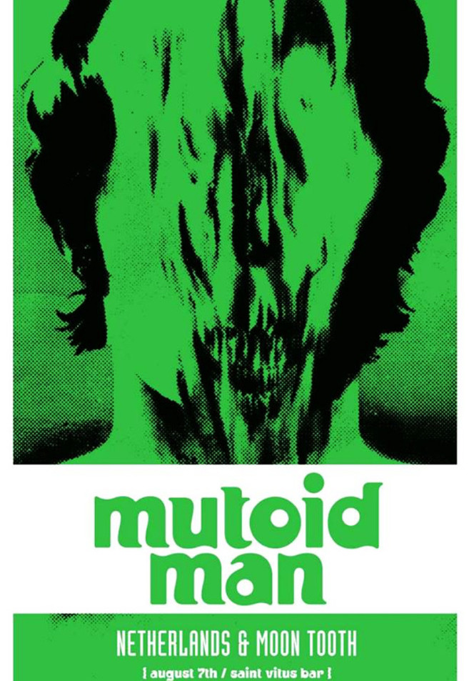 MUTOID MAN with NETHERLANDS and MOON TOOTH at ST. VITUS 8.7.15