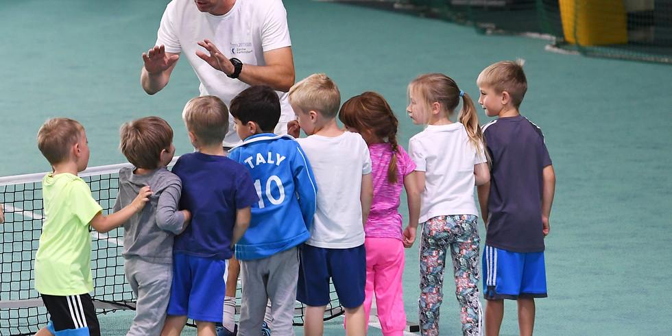 Winterkurs Tennis-Cross-Bewegungsschule