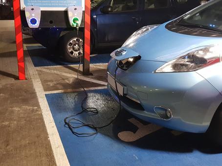 EV Charge Point Installation at Enterprise Ireland