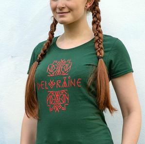 T-Shirt Deloraine Women Green