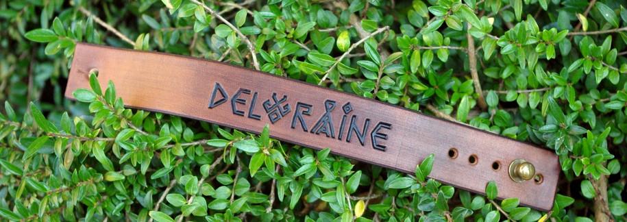 Kožený náramek Deloraine