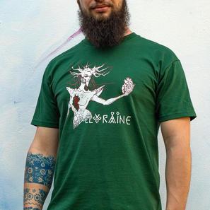 T-Shirt The Heart of Stone Men Green