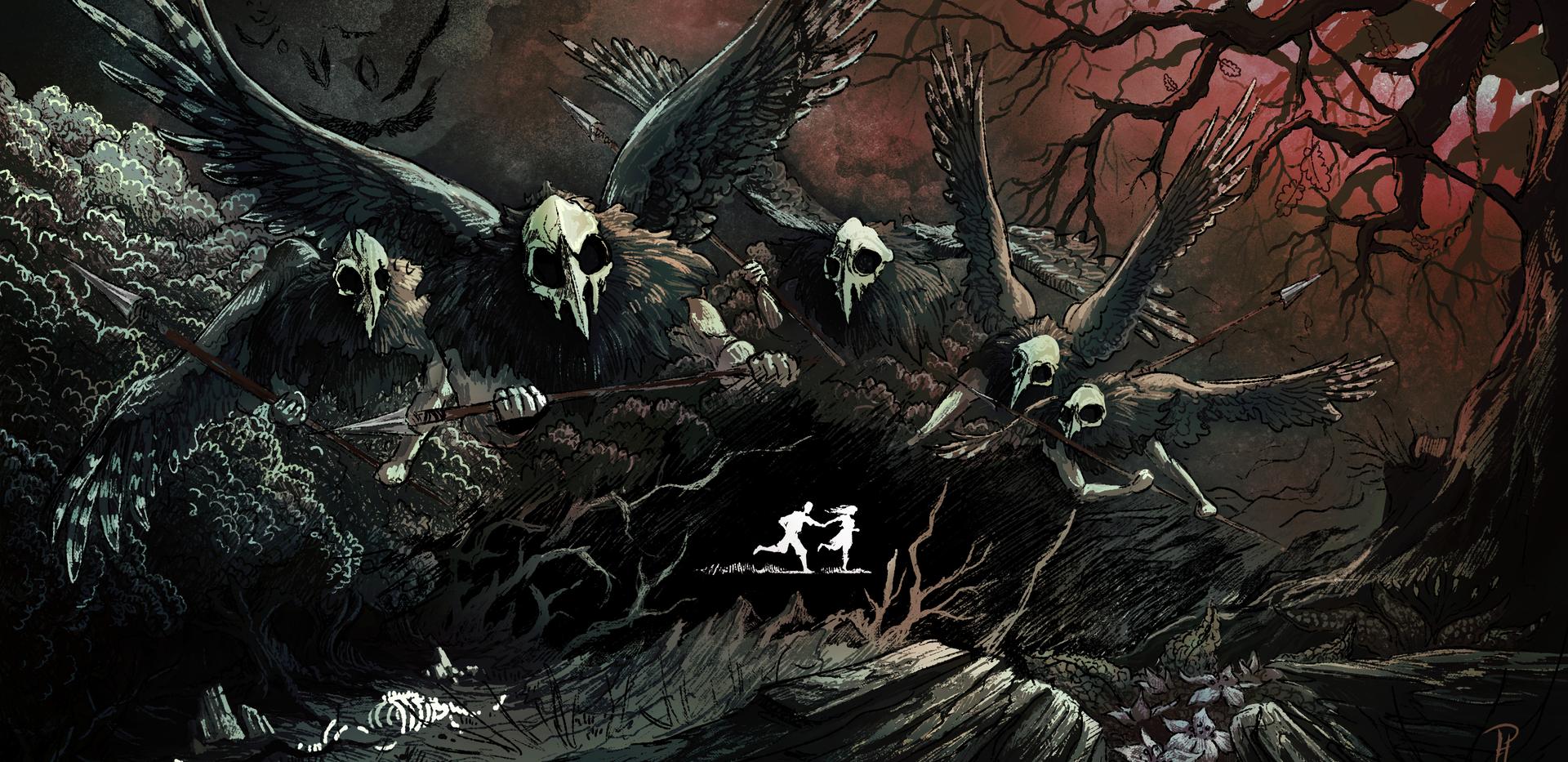 """Poster """"Jestřábi"""" (The Hawks)"""