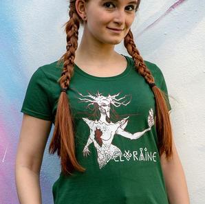 T-Shirt The Heart of Stone Women Green