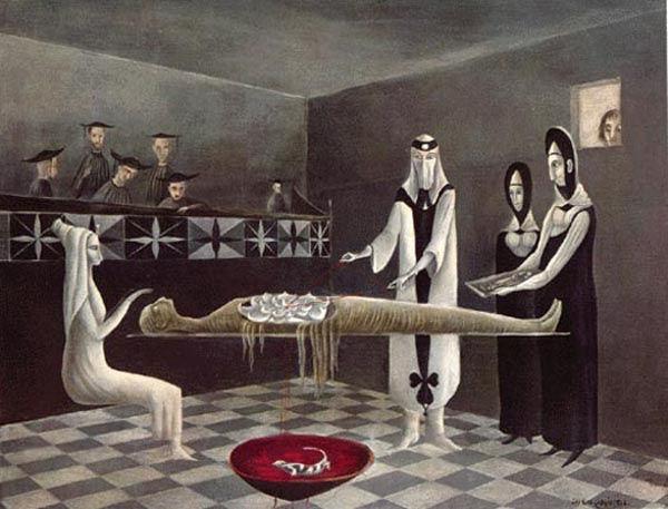 Adieu Amenhotep by Leonora Carrington, 1
