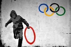 Banksy Juegos olímpicos Londres 2012