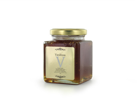 Vasilissa, ελληνικό μέλι με ράβδους χρυσού 24 καρατίων