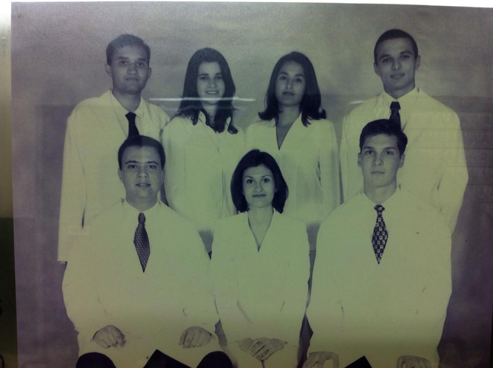 When I became a physician (2001)