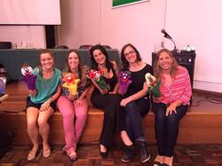 Pupets show for teachers in Curitiba