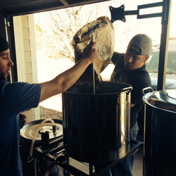 getting our brew on