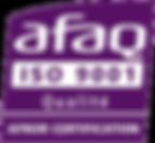 AFNOR AFAQ ISO9001 aéronautique usinage