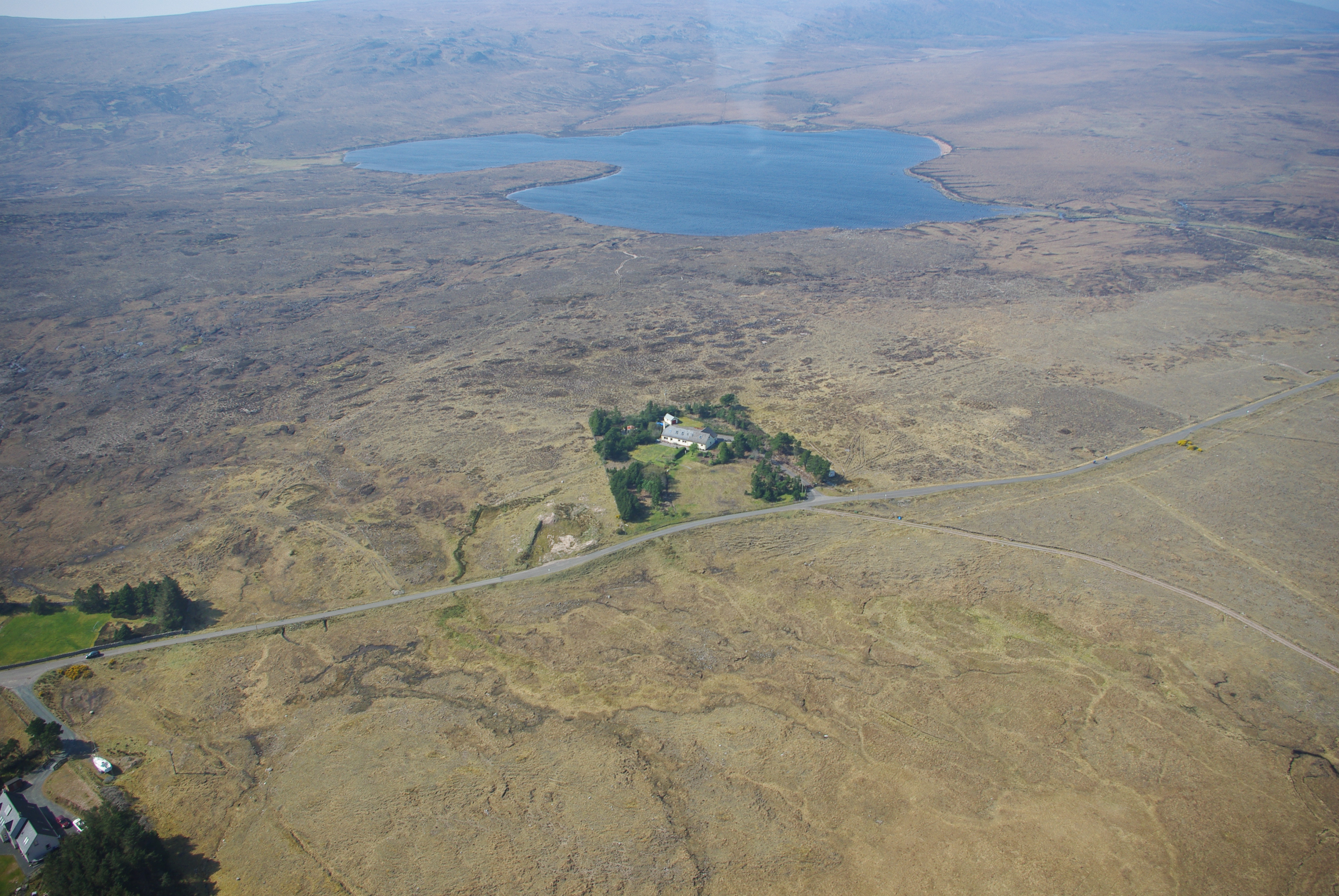 Loch Sgoud behind