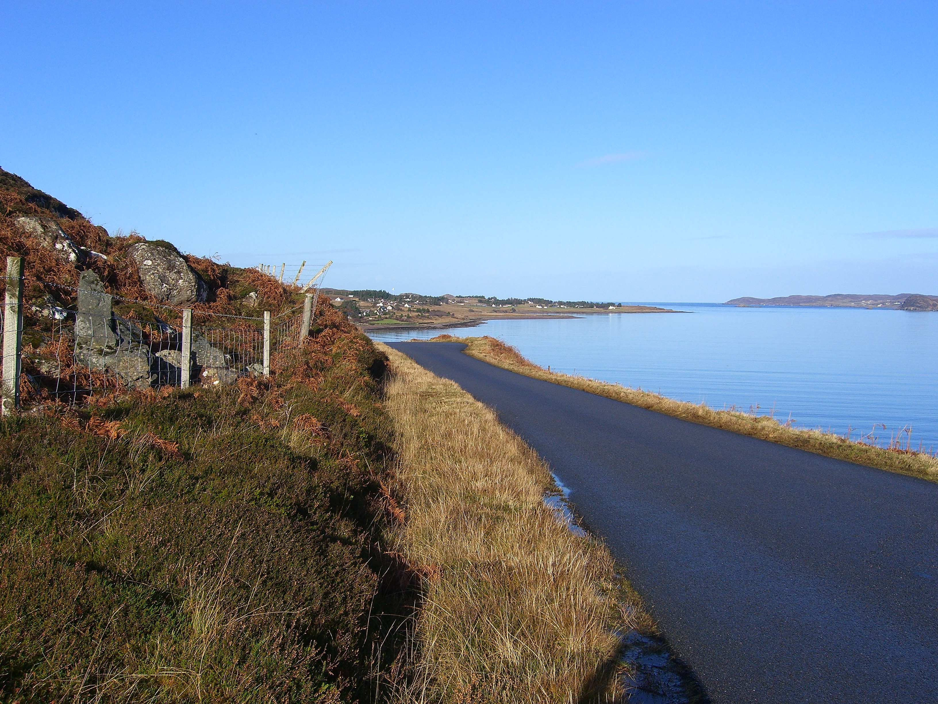 The road from Poolewe