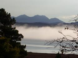 Cloud inversion over Loch Ewe