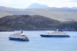 Ships in Loch Ewe