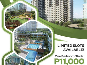 Serin East Tagaytay Extended Promo Term up to 60 months!