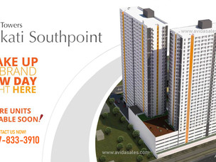 Avida Towers Makati Southpoint Tower 2, Soon to Launch!