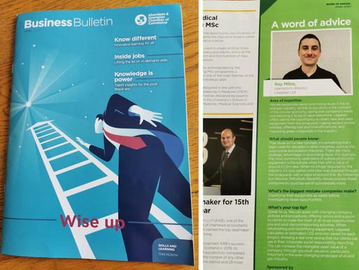 Legasea featured in AGCC Business Bulletin