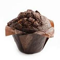 Heerlijke chocolade/salty caramelmuffin