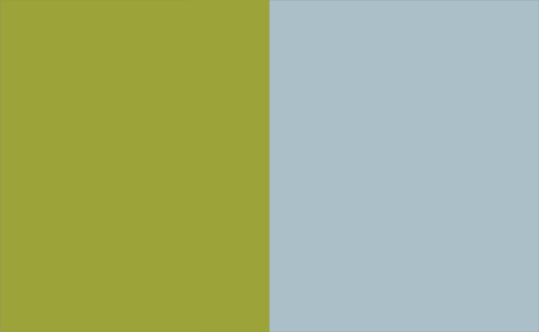 2 Colour Combination-Green/Duck Egg
