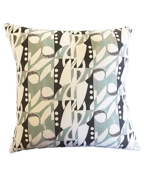 Deco Note Cushion Cover - Hemp/Organic Cotton