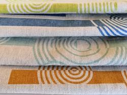 Concentric Circles Tea Towels