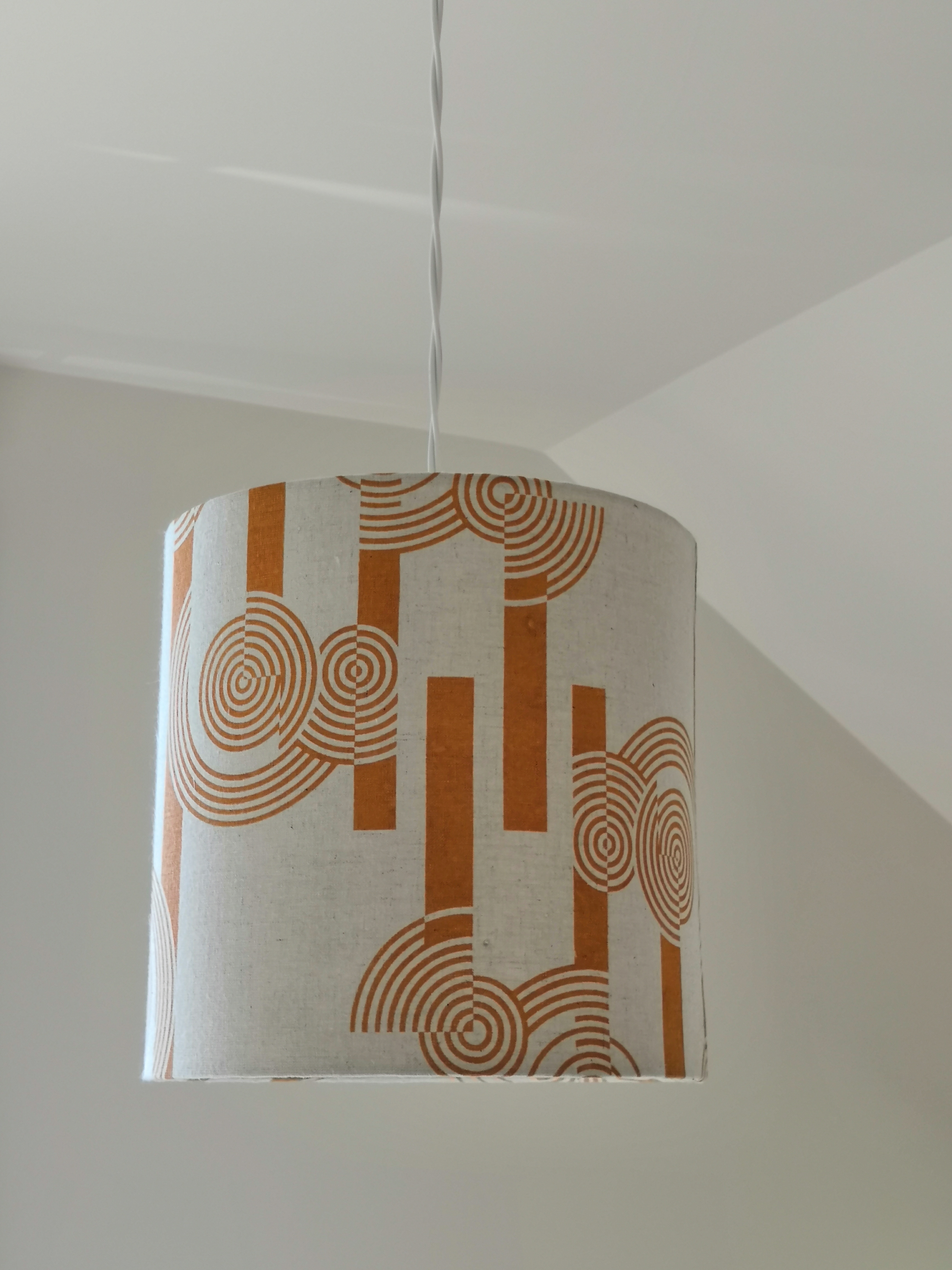 Concentric Circles Lampshade 23x23cm