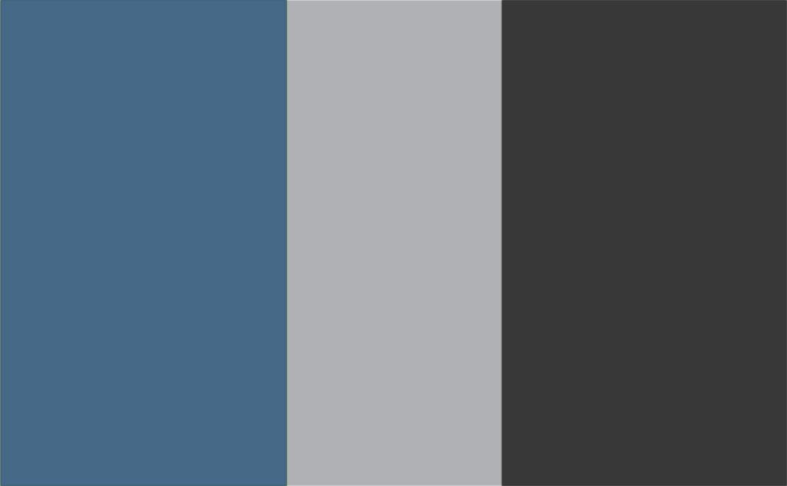 Blue/Grey/Charcoal Combo