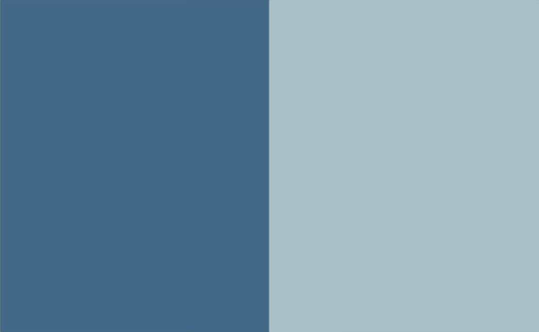 2 Colour Combination-Blue/Duck Egg