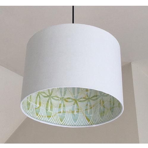 Pasifika Drum Lampshade - Hemp/Organic Cotton ∅30x20cm