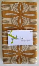 Abstrax.on tea towel